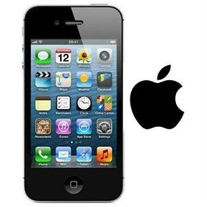 NEW APPLE IPHONE 4S 32GB LOCKED  BLACK - CELL PHONE - SMARTPHONE