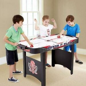 """NEW MD SPORTS AIR HOCKEY TABLE 48"""" MEDAL SPORTS - AIR POWERED KIDS TEAMS PLAYING GAMES 83874190"""