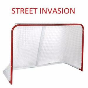 "NEW STREET INVASION 72"" HOCKEY GOAL 72"" x 48"" x 29"" - SPORTS - HOCKEY PLAYERS TEAM SPORT OUTDOOR  83378934"