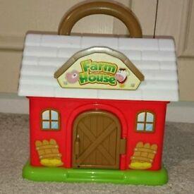 Plastic farm house