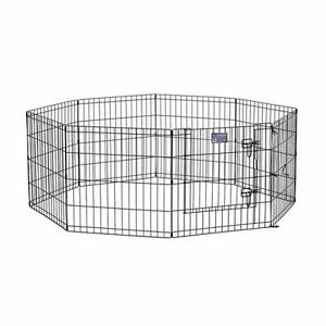 "24"" EXERCISE PEN FOR SMALL DOGS"