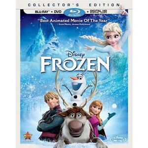Frozen Blu-Ray + DVD Combo + bonus book