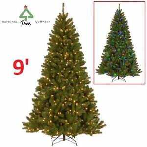 NEW NATIONAL TREE CHRISTMAS TREE 9' PowerConnect North Valley Spruce Artificial Tree with Dual Color LED Lights 82875670