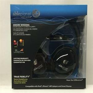 Able Planet True Fidelity PS400BG - On-Ear Stereo Headphones