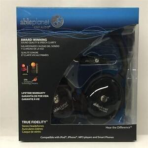 Able Planet True Fidelity PS400BG - On-Ear Stereo Headphones