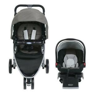 New Graco® Pace Click Connect Travel System DI15