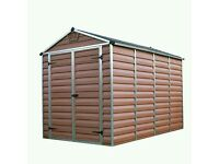 Palram 6x10 Amber Garden Shed Brand New!!! Still in boxes