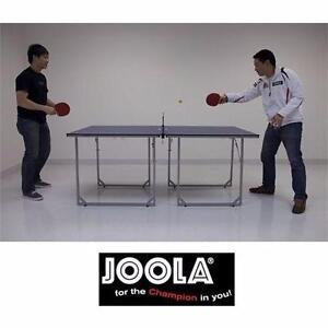 NEW JOOLA MID-SIZED TENNIS TABLE  PADDLE PADDLES SPORT RECREATION GAME GAMES ROOM REC COMPACT FOLDING PING PONG 98446377