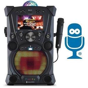 NEW SM FIESTA KARAOKE SYSTEM SINGING MACHINE - ELECTRONICS - MUSIC 107319221