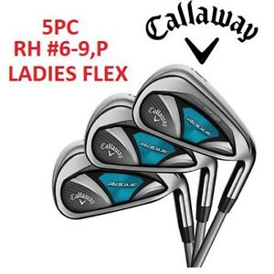 NEW 5PC CALLAWAY ROUGE IRON SET