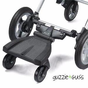 NEW GUZZIE+GUSS AXLE STROLLER HITCH   UNIVERSAL AXLE STROLLER HITCH - BLACK BABY ACCESSORIES TRAVEL GEAR 98856638
