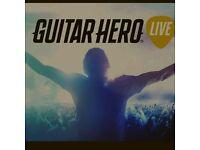 Guitar hero live + guitar