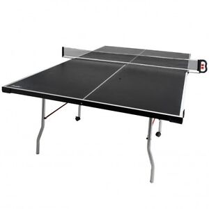 4-Piece Electronic Pro Table Tennis Table