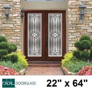 "NEW ODL SANIBEL 2264 WI DOOR INSERT 686SANRID 139548239 WROUGHT IRON - 22"" x 64"" WITH HP FRAME DOORS INSERTS EXTERIOR..."