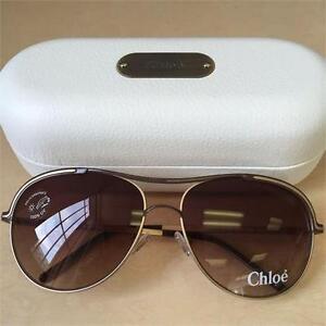 NEW, Genuine Chloe Sunglasses CL 2245 BROWN C02 - 135