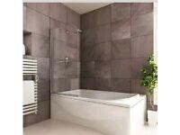 Bath shower glass