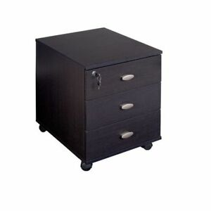 BNIB - CORLIVING WFP-180-C Folio Three Drawer Storage Cabinet