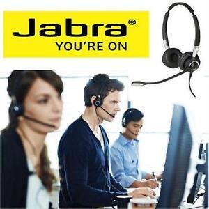 NEW JABRA BIZ HEADPHONES W/ MIC BIZ 2400 II DUO UNC - Electronics > Headphones > On-Ear Noise Cancelling