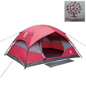 NEW CANADIANA 4 PERSON DOME TENT INSTANT HYBRID 113836794