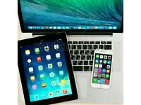 I want to buy iPhone 6 16gb unlocked £150 macbook air or pro