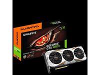 Brand new Gigabyte GeForce 1080 Ti Gaming OC 11G, no box/packaging