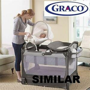 NEW GRACO PACK'N PLAY PLAYARD - 117438879 - CUDDLE COVE FINLAND FASHION TABLE PLAYPEN CRIB PORTABLE ROCKER CRIBS