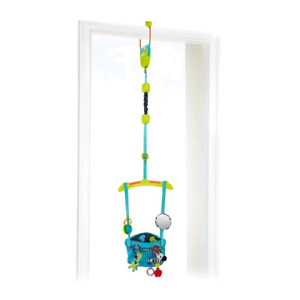 Bright starts bounce and spring deluxe door jumper