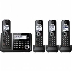 Panasonic KX-TGF344B Dect 6.0 4-Handset digital cordless phone