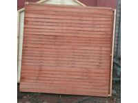 6x6 fence panels new