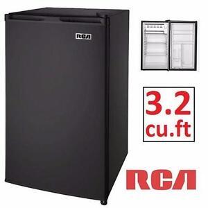 USED RCA 3.2CU.FT BLACK MINI FRIDGE HOME DORM RESIDENCE BASEMENT APARTMENT STUDENT BEVERAGE  84524708