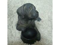 Cast Bronze dog ornament