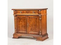 Cabinet with drawers, mahogany, Renaissance, 1900/2000-tal.