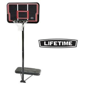 "NEW LIFETIME 44"" BASKETBALL SET IMPACT - PORTABLE SYSTEM - BASKETBALL NET 104909984"