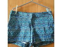 H&M print shorts