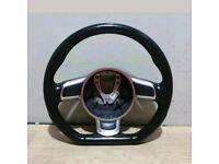 audi a3 s3 rs3 flat bottom steering wheel