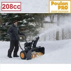 "NEW* POULAN PRO 208cc SNOW BLOWER 961920092 215252393 24"" CLEARING WIDTH 208cc GAS SNOWBLOWER"