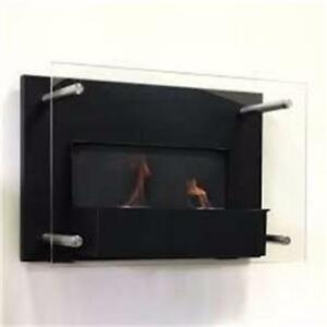 AUCTION NEW Paramount Indoor Gel Fuel Wallmount Fireplace MSRP $ 249