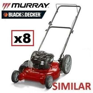 8 AS IS LAWN MOWERS UNINSPECTED - 119581373 - HIGH WHEEL MOWERS LAWNMOWER LAWNMOWERS CUTTING LANDSCAPING GRASS LAWNS ...