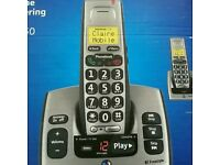 Home phone with answer machine