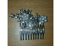 Accessorize crystal hair comb bridal wedding