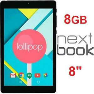"""REFURB NEXTBOOK ARES TABLET 16GB   ARES - BLACK - 8"""" - ANDROID TABLET - ELECTRONICS  86917362"""