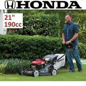NEW* HONDA SELF PROPELLED LAWNMOWER HRX217HZA 250131603 LAWN MOWER ELECTRIC START GAS WALK VARIABLE SPEED 21 190CC
