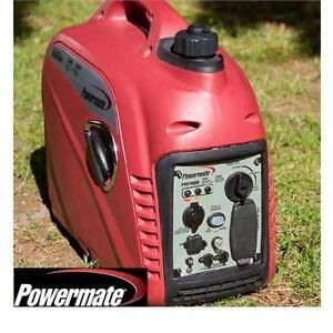 NEW POWERMATE 2000i GENERATOR PORTABLE INVERTER 1600 RUNNING WATTS - 2000 SURGE WATTS - GAS 80 CC GENERATORS  85286487