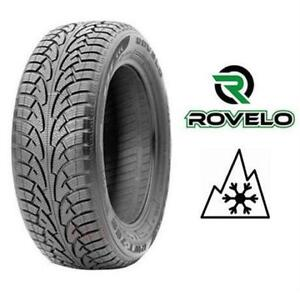 Rovelo 215/65R16 winter tires on steel rims, 85% tread, set of 4