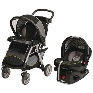 Brand New Graco Urbanlite Travel System - Omni