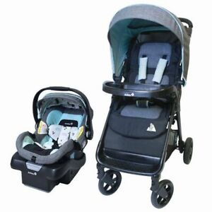 BNIB Sealed Safety 1st Smooth Ride Travel Systems and Car Seat