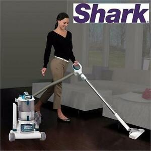 USED SHARK ROTATOR PRO VACUUM   Rotator Professional Lift-Away Vacuum Cleaner - BLUE & WHITE FLOOR CARE CLEANER 99055757