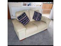 2 seater cearm sofa