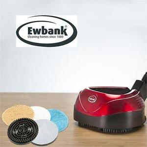 NEW EWBANK ALL-IN-ONE FLOOR CLEANER Scrubber and Polisher, Red, 23-Feet Power Cord -F LOOR CARE POLISHERS