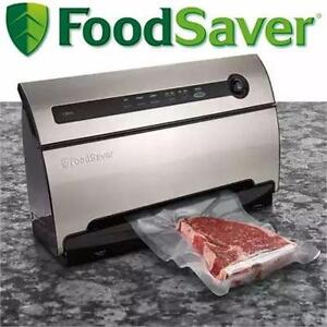 NEW OB FOODSAVER VACUUM SEALING SYS   STAINLESS STEEL - FOOD SEALING SYSTEM - KITCHEN APPLIANCES   86390339